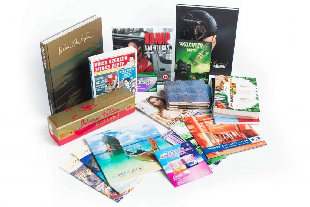Các loại ấn phẩm dùng trong ngành in