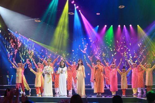 Chương trình chào xuân được tổ chức vào đầu năm mới