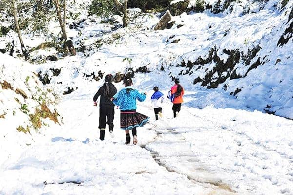 Theo dự báo lễ hội mùa đông năm nay sẽ có tuyết rơi
