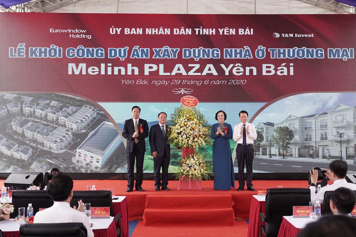 Lễ Khởi Công Xây Dựng Dự Án Melinh Plaza Yên Bái